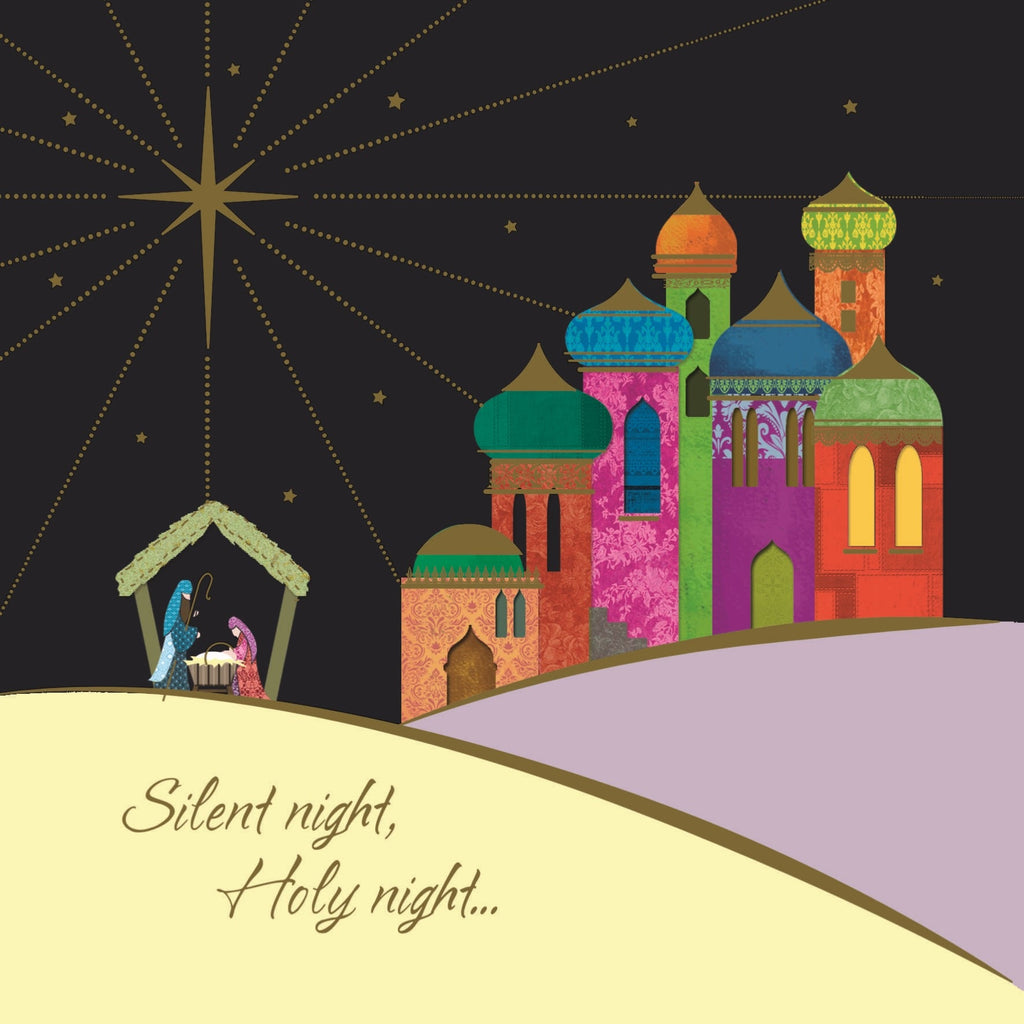 Holy Night Bethlehem Charity Christmas Cards
