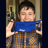 JDRF Charity Face Masks - Pack of 5