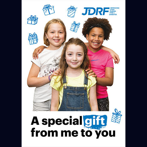 'Give a child a support pack' virtual gift