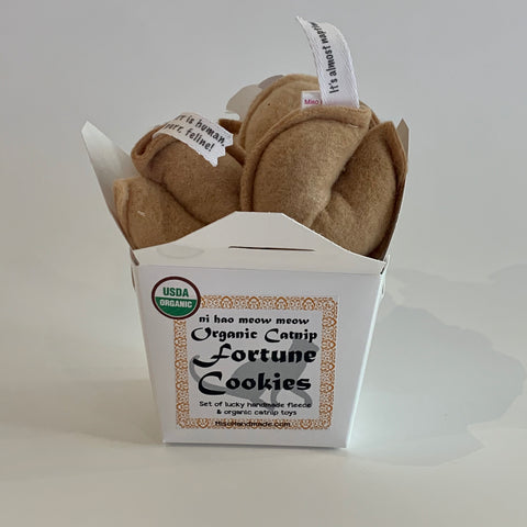 Catnip Fortune Cookies
