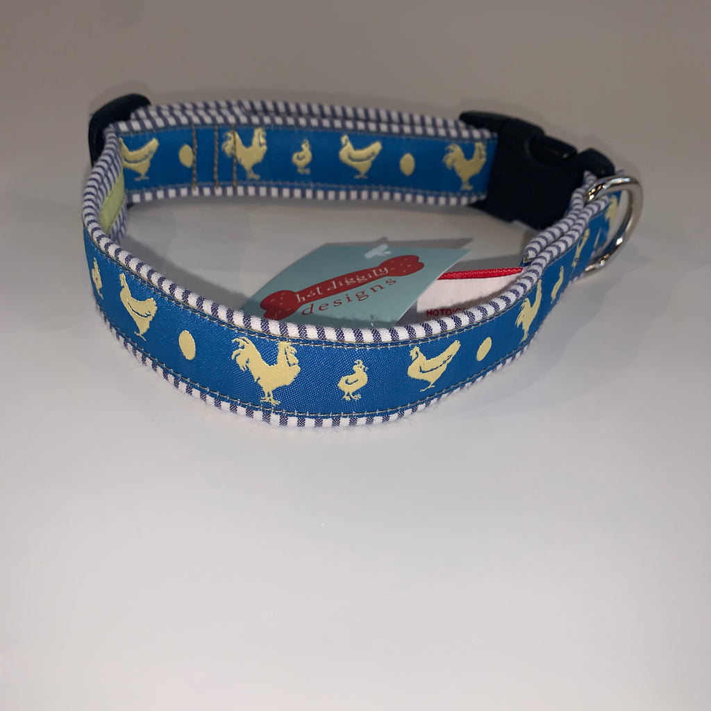 "Limited Edition Rooster 1"" Dog Collar"