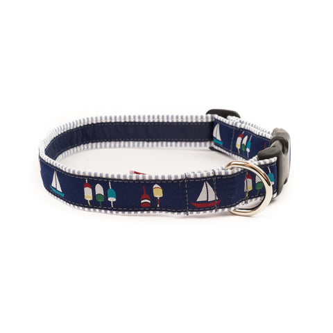 Boats & Buoys Dog Collar 1