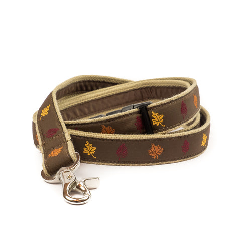 Fall Leaves Dog Leash 1
