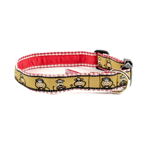Monkey Dog Collar 1