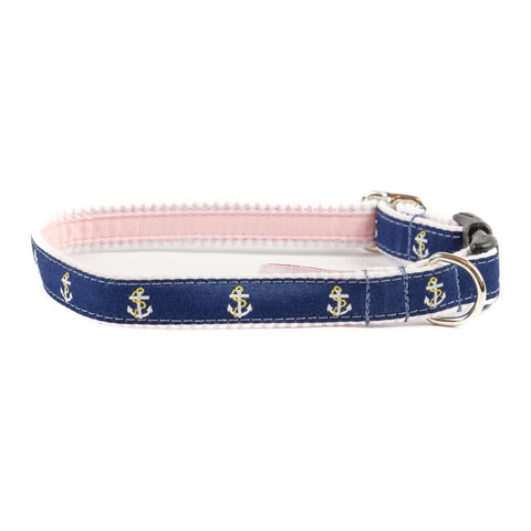 Anchor Dog Collar 5/8