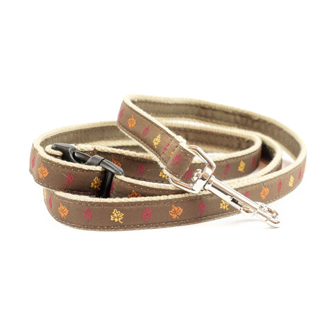 Fall Leaves Dog Leash 5/8