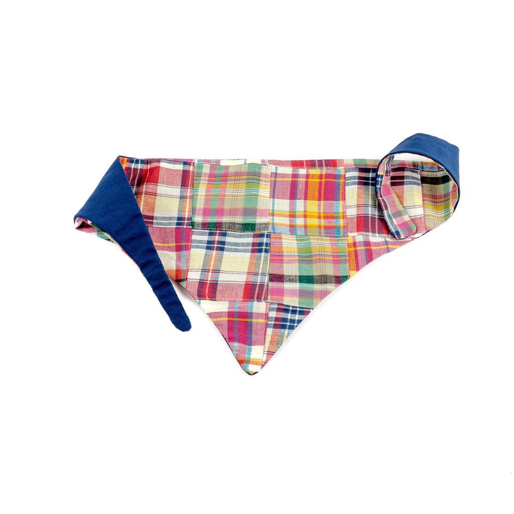 Summer Madras Bandana