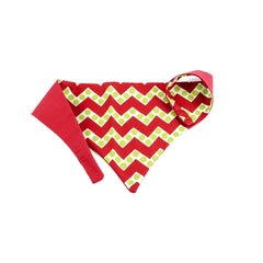 Green Dot Chevron Bandana