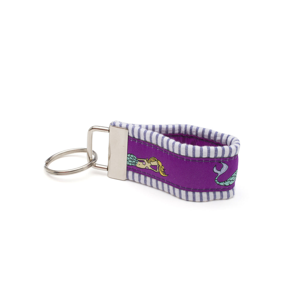 Mermaid Purple Key Fob