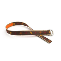 Fall Leaves Belt - Tan Webbing