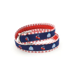 Hats & Mittens Belt - Red Peppermint
