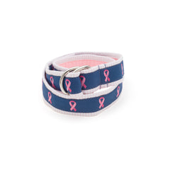 Breast Cancer Ribbon Belt