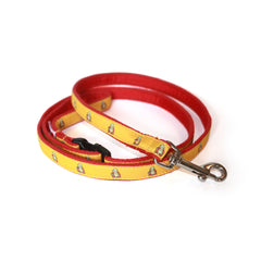 Buddha Dog Leash - Red Webbing
