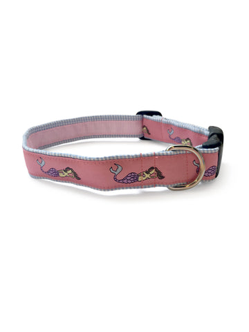 Mermaid Coral Dog Collar 1