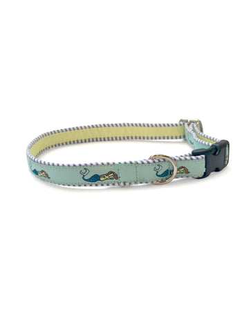 Mermaid Seafoam Dog Collar 5/8