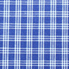 Golf Cart - Navy Plaid