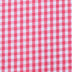 Dragonflies - Red Gingham
