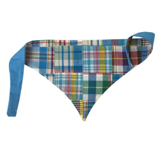 Blue Summer Madras Bandana