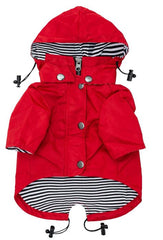 Red Dog Raincoat