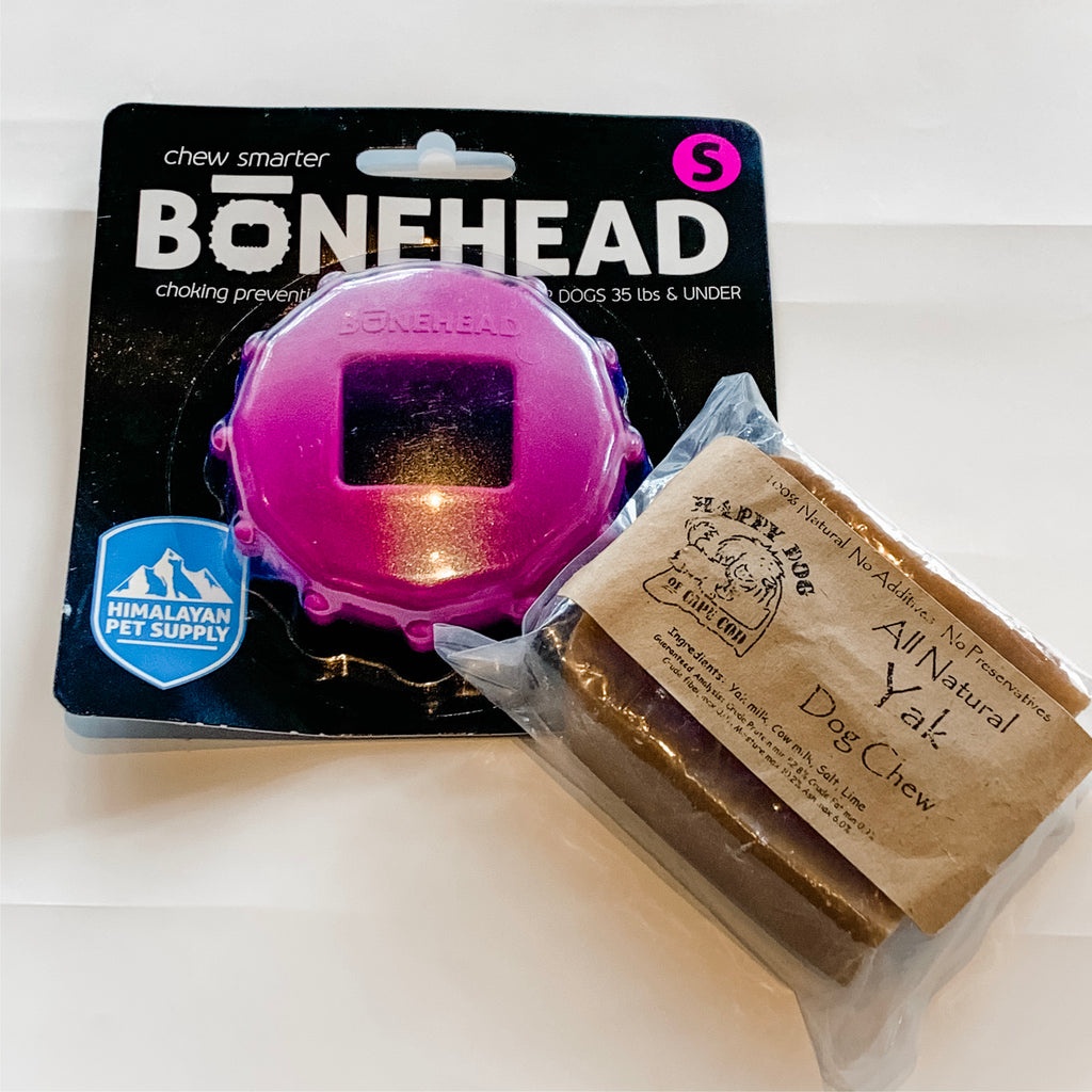 Small Bonehead and Small Yak Chew Pack