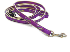 Mermaid Purple Dog Leash 5/8""