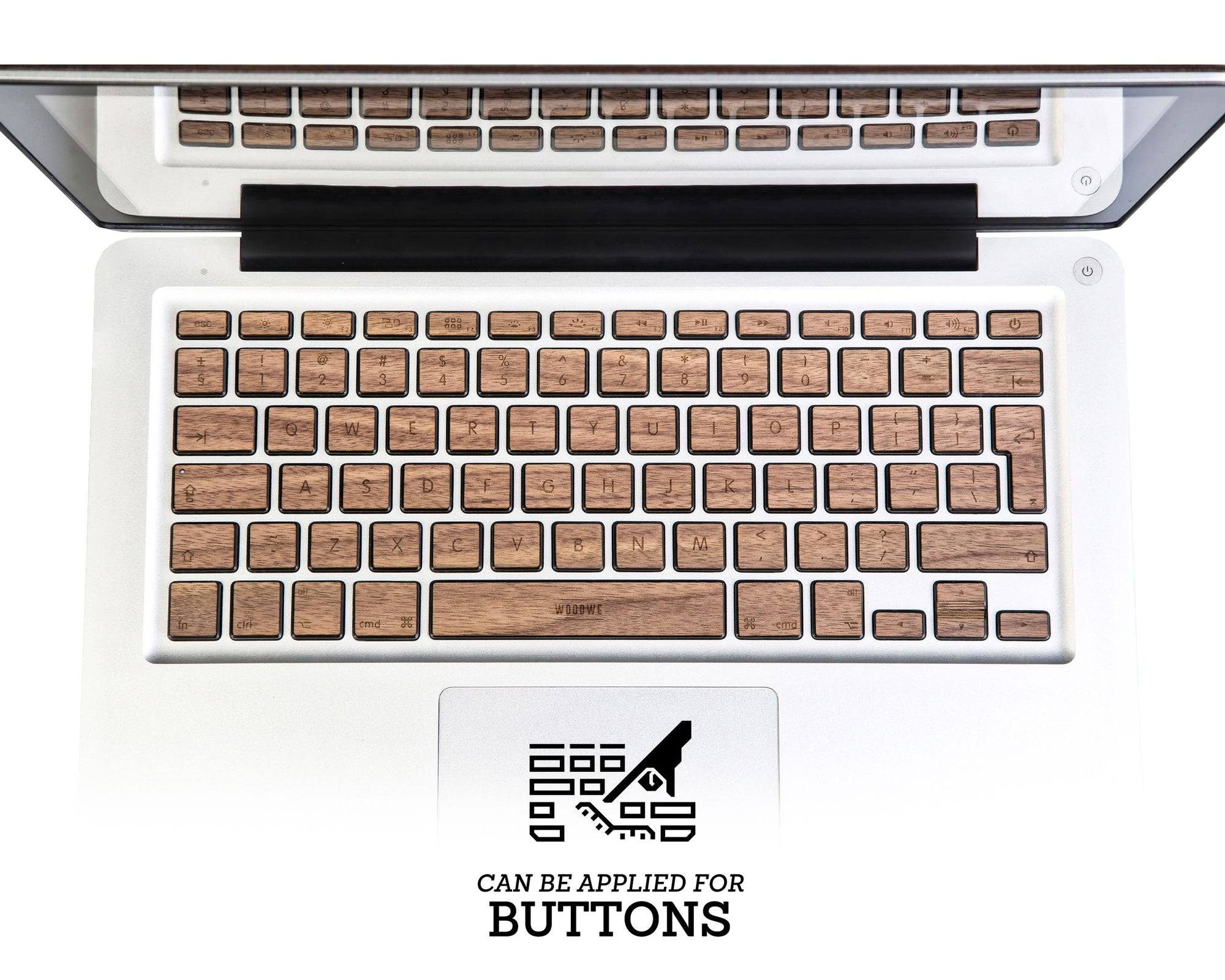 CUSTOMISE - KEYBOARD SKIN WOOD COLLECTION