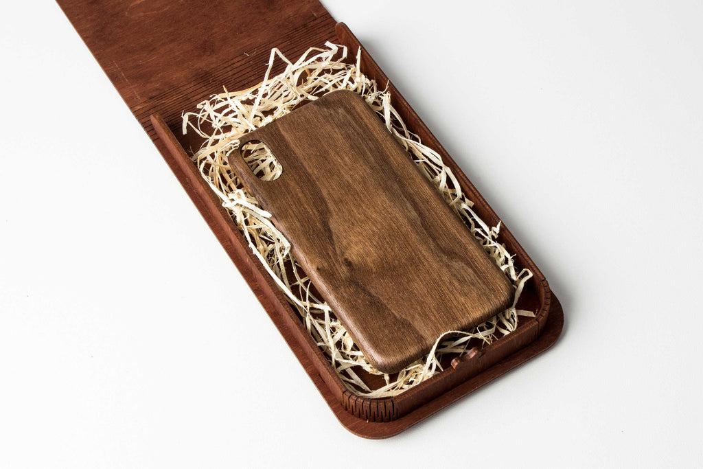 GIFT box for iPhone Case – Natural Wooden Gift Box
