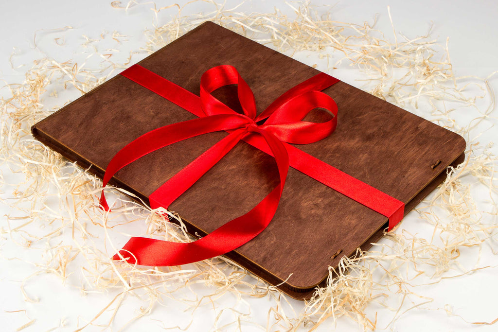 GIFT box for MacBook Cover for Air / Pro 11 12 13 15 inch – Natural Wooden Gift Box