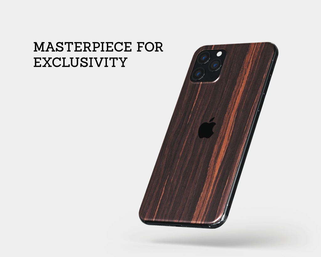 IPhone Skin - Ebony Wood
