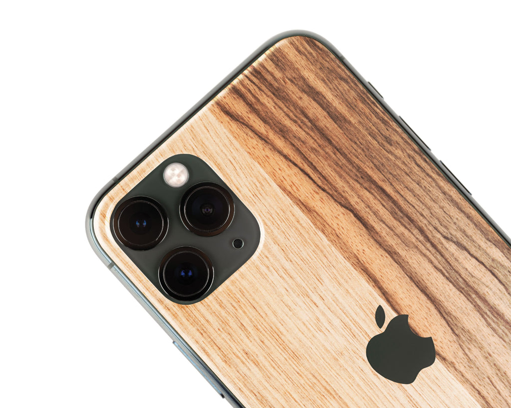 IPhone Skin - Black Frake Wood
