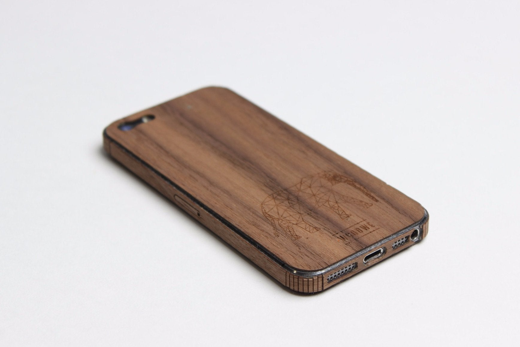 Natural Wood Case For Iphone 5 5s Walnut Woodwe Woodwe