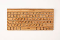 imac bamboo Keyboard Wood Sticker Decal Skin Cover Case 11 13 15 12 inch in .jpg