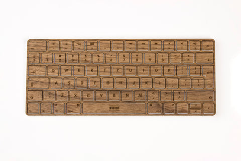 iMac Walnut Wood Keyboard Skin