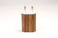 Iphone charger real wood skin cover case for Iphone 5 6 7 8 plus X 2