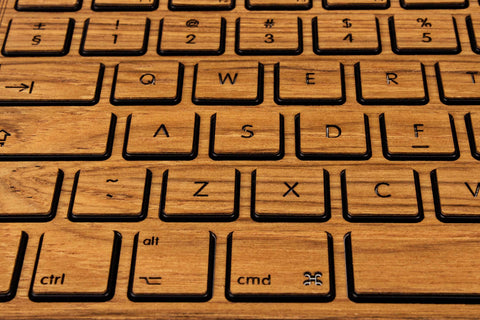 Macbook Keyboard Teak Wood Sticker Decal Skin Cover Case for Air Pro 11 13 15 12 inch in 1