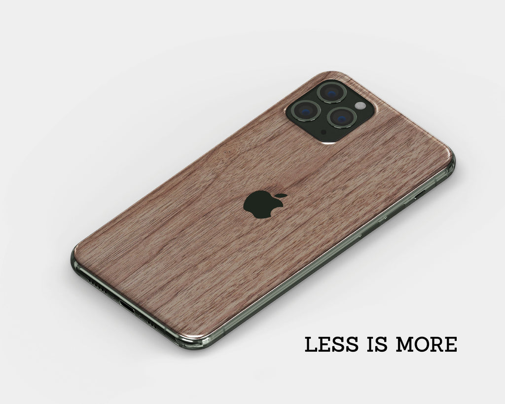 IPhone Skin - Walnut Wood