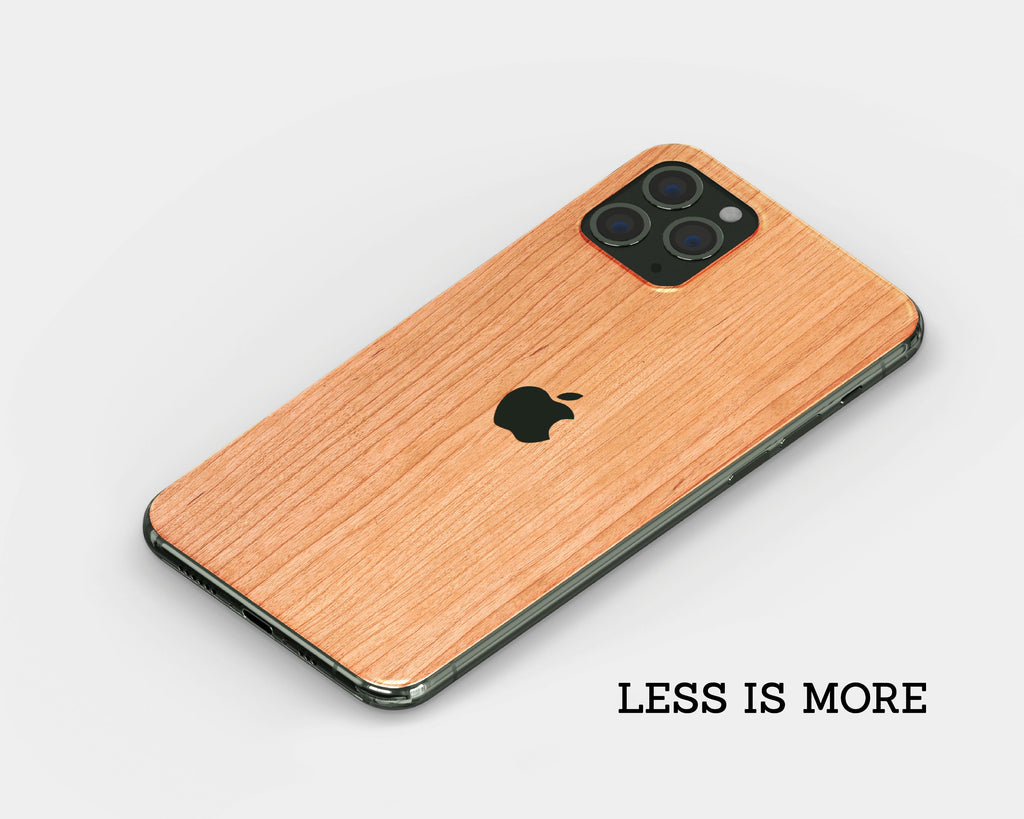 IPhone Skin - Cherry Wood
