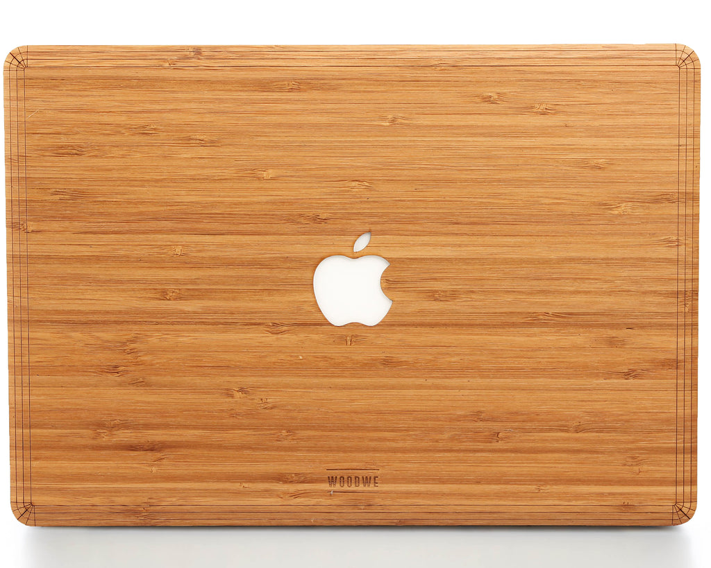 Macbook Wood Cover - Bamboo