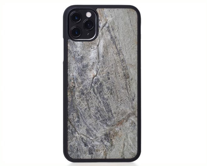 IPhone Case - Silver Grey Stone