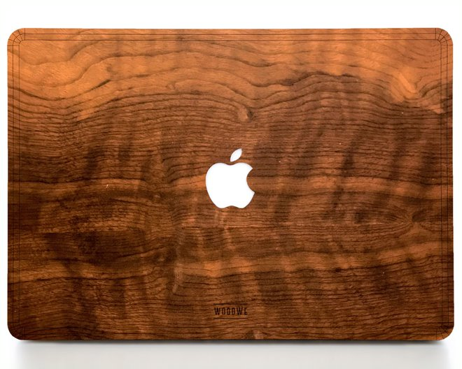 Macbook Wood Cover - Imbuia