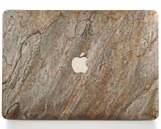 Macbook Stone Cover - Burning Forest