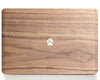Wild Paw - Minimal - Macbook Wood Cover - Walnut