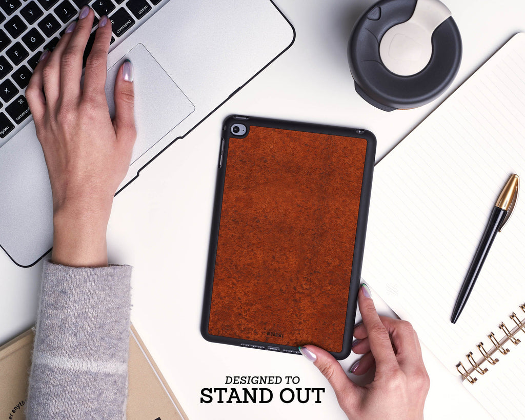 Ipad Case - Rust Metal
