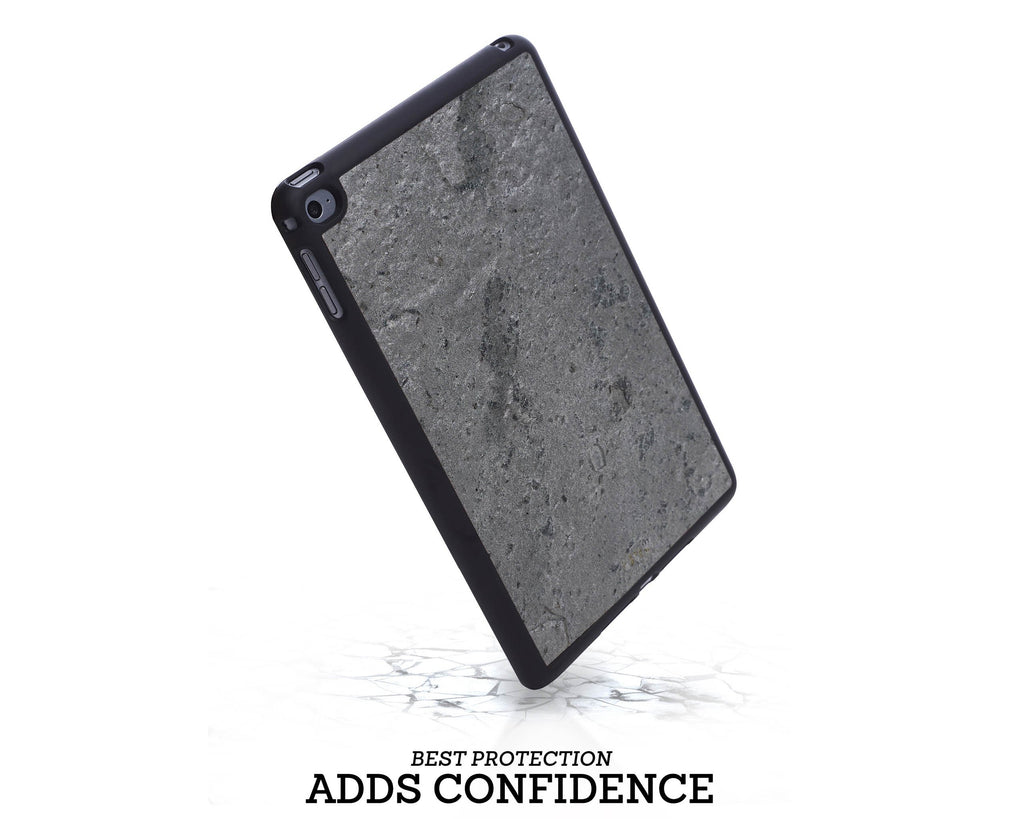 Ipad Case - Silver Grey Stone