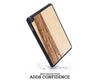 ipad case cover wood protection protective black frake mini air pro