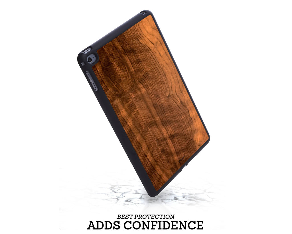 Ipad Case - Imbuia Wood