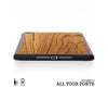 ipad case cover wood protection protective teak mini air pro