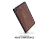 ipad case cover wood protection protective walnut mini air pro