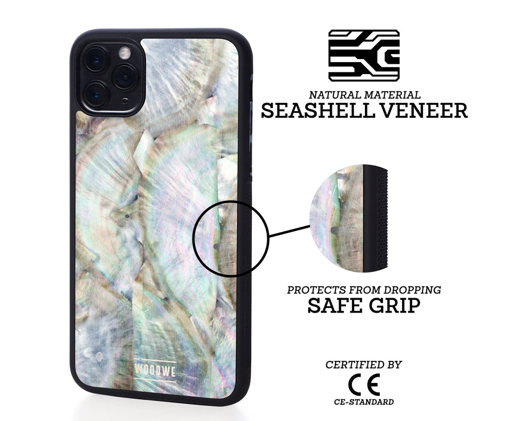 iphone case cover seashell protection protective blacklip fathersea