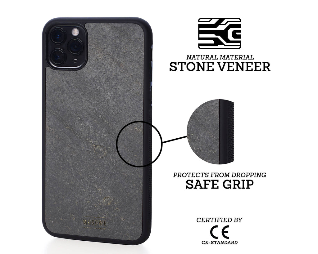iphone case cover stone protection protective darkblack